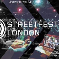 StreetFest London 2019 at Oval Space on Saturday 14th September 2019