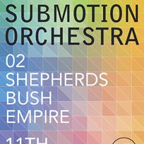 Submotion Orchestra London March 2016