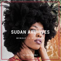 Sudan Archives at Camden Assembly on Monday 13th November 2017