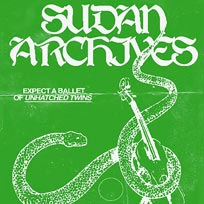 Sudan Archives at Corsica Studios on Tuesday 19th November 2019