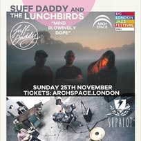 Suff Daddy & The Lunchbirds at Archspace on Sunday 25th November 2018