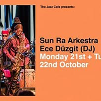 Sun Ra Arkestra at Jazz Cafe on Tuesday 22nd October 2019
