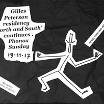 Sundays at Phonox: Gilles Peterson at Phonox on Sunday 19th November 2017