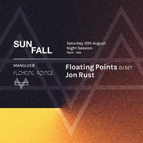 Floating Points: Sunfall Night Session at The Laundry Building on Saturday 12th August 2017