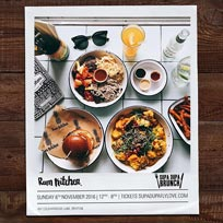 Supa Dupa Brunch Party at The Rum Kitchen on Sunday 6th November 2016