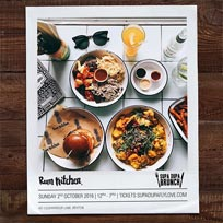 Supa Dupa Brunch Party at The Rum Kitchen on Sunday 2nd October 2016
