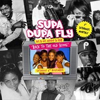 Supa Dupa Fly x Back to The Old Skool at The Mule Bar on Saturday 4th November 2017