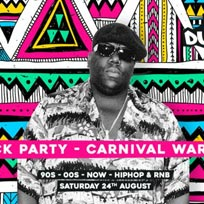Supa Dupa Fly x Summer Block Party x Carnival Warm Up at Solomons Yard on Saturday 24th August 2019