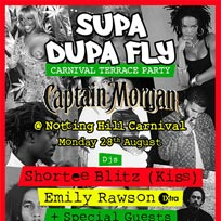Supa Dupa Fly Carnival Terrace Party at 605-609 Harrow Road on Monday 28th August 2017