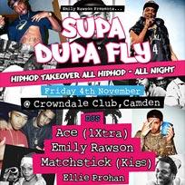 Supa Dupa Fly at Crowndale Club on Friday 4th November 2016