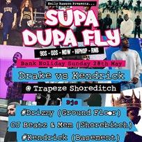 Supa Dupa Fly at Trapeze on Sunday 28th May 2017