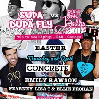 Supa Dupa Fly Easter Concrete April 2015