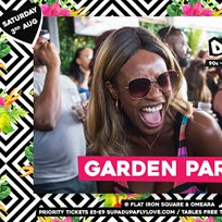 Supa Dupa Fly x Garden Party x Flat Iron Square at Flat Iron Square on Saturday 3rd August 2019