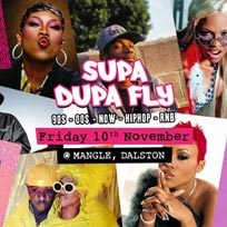 Supa Dupa Fly x w/ DJ Semtex (1Xtra) at The Laundry Building on Friday 10th November 2017