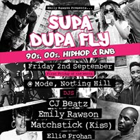 Supa Dupa Fly at Mode on Friday 2nd September 2016
