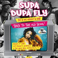 Supa Dupa Fly x Back to the Old Skool at The Mule Bar on Friday 2nd June 2017