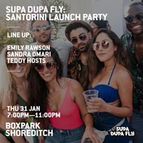 Supa Dupa Fly at Boxpark Shoreditch on Thursday 31st January 2019