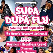 Supa Dupa Fly at The Laundry Building on Saturday 10th September 2016