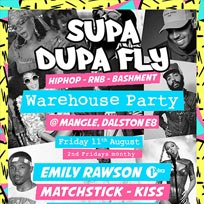 Supa Dupa Fly x Warehouse Party at The Laundry Building on Friday 11th August 2017