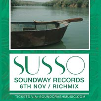 Susso at Rich Mix on Monday 6th November 2017