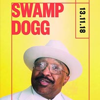 Swamp Dogg at Rich Mix on Tuesday 13th November 2018