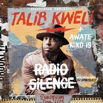 Talib Kweli at Electric Brixton on Wednesday 7th November 2018