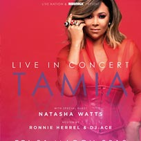 Tamia at KOKO on Friday 1st March 2019