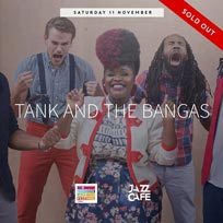 Tank and the Bangas at Jazz Cafe on Saturday 11th November 2017