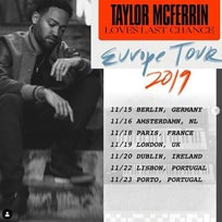 Taylor McFerrin at Oslo Hackney on Tuesday 19th November 2019
