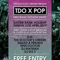 TDO x Pop Brixton at Pop Brixton on Sunday 21st April 2019