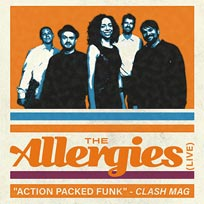 The Allergies at Jazz Cafe on Wednesday 15th May 2019