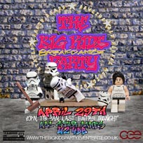 "The Big Kids ""BreakDance"" Party at All Star Lanes on Saturday 29th April 2017"