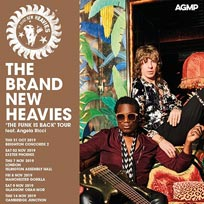 The Brand New Heavies at Islington Assembly Hall on Thursday 7th November 2019