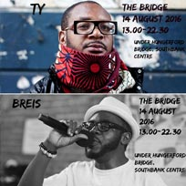 The Bridge at Southbank Centre on Sunday 14th August 2016