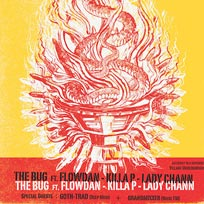 The Bug W/ Flowdan at Village Underground on Saturday 18th November 2017