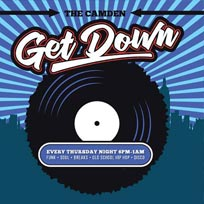 The Camden Get Down at Lockside Lounge on Thursday 30th August 2018