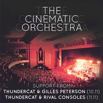The Cinematic Orchestra at Hammersmith Apollo on Thursday 10th November 2016