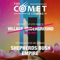 The Comet Is Coming at Shepherd's Bush Empire on Thursday 5th December 2019