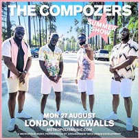 The Compozers at Dingwalls on Monday 27th August 2018