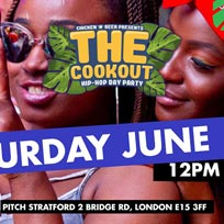 The Cookout x Day Party at PITCH Stratford on Saturday 1st June 2019