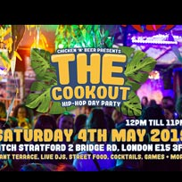 The Cookout at PITCH Stratford on Saturday 4th May 2019