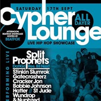 The Cypher Lounge at Brixton Windmill on Saturday 17th September 2016