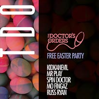 TDO Free Easter Party at Pop Brixton on Sunday 1st April 2018