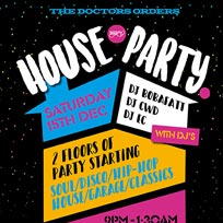 TDO House Party at Paradise by way of Kensal Green on Saturday 15th December 2018