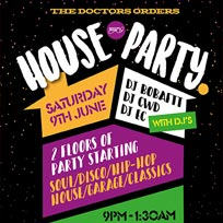 TDO House Party at Paradise by way of Kensal Green on Saturday 9th June 2018