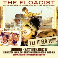 The Floacist at Brixton Jamm on Saturday 16th December 2017