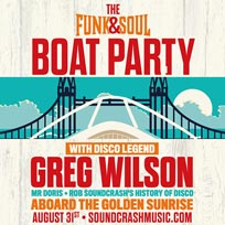 Funk & Soul Boat Party at Temple Pier on Saturday 31st August 2019