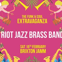 Riot Jazz Brass Band at Brixton Jamm on Saturday 16th February 2019