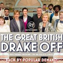 The Great British Drake Off at Brixton Jamm on Friday 4th November 2016