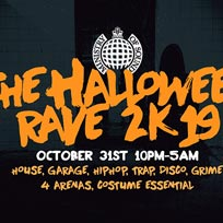 The Halloween Rave at Ministry of Sound on Thursday 31st October 2019